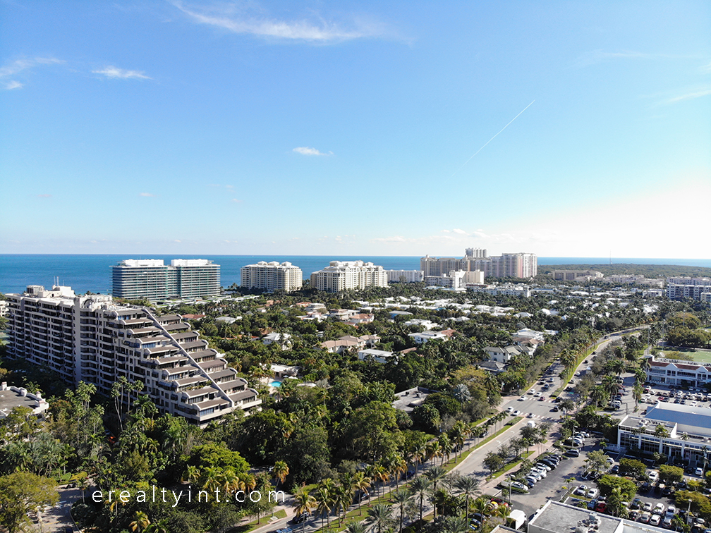 Key Biscayne condos view looking south