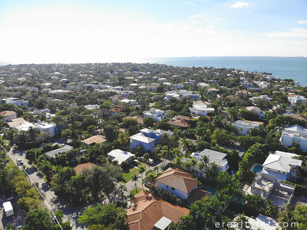 Key Biscayne houses - southern section