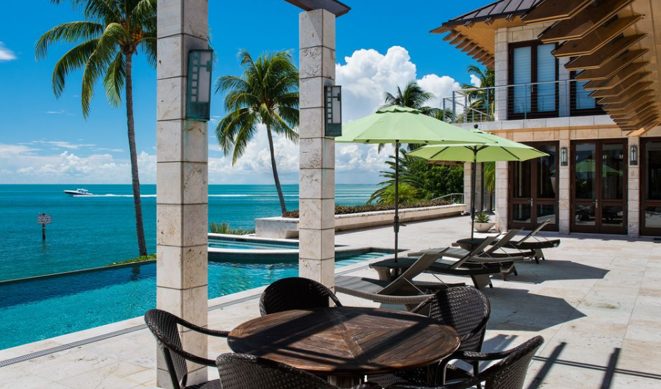 Key Biscayne Waterfront home - Harbor point